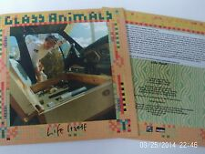 GLASS ANIMALS -  LIFE ITSELF ( CD 2016) 1 TRACK 3 MIXES  CARD PICTURE DJ PROMO