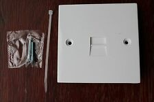 CTS Square Plate Telephone Master Socket  c/w capacitor resistor surge protector