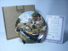 Wedgwood A WAVE FROM THE BRIDGE Canal Plate Water Lanes of England MIB COA