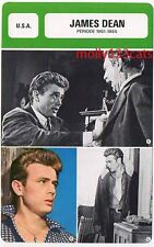American Cultural Icon actor and film star James Dean French Trade Card