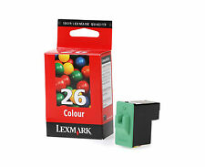 "Lexmark Genuine 10N0026 26 Color Ink Cartridge for Z517 X1270 X1110 Z611 ""A"""