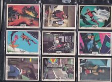 Captain Scarlet Gum Cards Full set of 66 by Anglo Confectionery