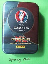 Panini UEFA Euro 2016  Pocket Tin Mini 30 Base Cards 1 limited Edition Motiv 3