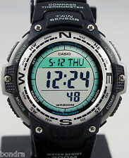 Casio SGW100-1V Twin Sensor COMPASS Watch Thermometer World Time Backlight New