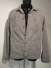 Zadig & Voltaire Vintage Men's Military Style Jacket Olive Green SIZE medium