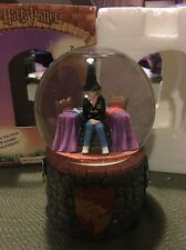 RARE HARRY POTTER MUSICAL WATERBALL WITH HERMOINE INSIDE 2001 BY ENESCO (103158)