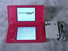 Nintendo DSi Handheld Game System Boutique PINK Charger Tested Working BUNDLE