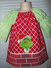 Grinch Stole Christmas  Girls Dress Size 2t,3t OR 4t  Ready to Ship
