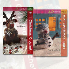 Christmas Crochet Hobbies & Craft 2 Books Collection Search Press Ltd