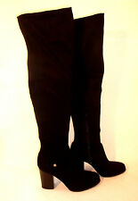 GUESS WOMEN'S DRESS BOOT **BLACK SUEDE STYLE FABRIC **  SIZE 10 ** 3 IN 1 WEAR