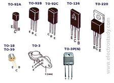 RCA JANTX2N6213 / 5961-01-057-4541 BJT PNP 350V 2A 3-Pin 2+Tab  TO-66 Qty-1
