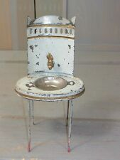 PP17 * Antique Doll House Tin Wash Stand - Germany 1900´s