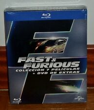FAST AND FURIEUX-PACK 1-7 COLLECTION COMPLET-7 BLU-RAY+1 DVD-SCELLÉ-SCELLÉS