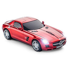 Officiel mercedes-benz sls amg sans fil souris d'ordinateur-rouge