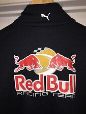 Medium NASCAR Team Issued Red Bull Racing Puma Pit Crew Jacket Athlete