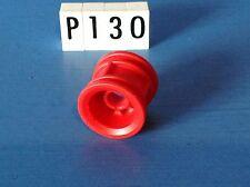 (P130) playmobil piéce vehicule jante rouge diamètre 21 mm
