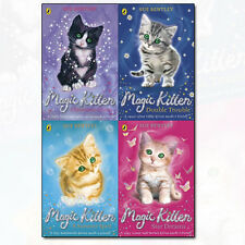 Sue Bentley Magic Kitten Collection 4 Books Set Star Dreams, Double Trouble NEW