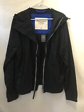 Abercrombie & Fitch Men's Navy Hooded Jacket Size XL *NWT*