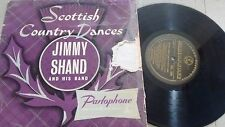 """JIMMY SHAND Scottish Country Dances No.3 UK PARLOPHONE 10"""" LP PMD 1029"""