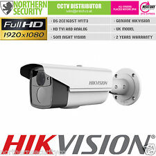 D5 HIKVISION 2MP 1080P 2.8-12mm HD-TVI TURBO EXIR WDR BLANCO BALA CÁMARA CCTV