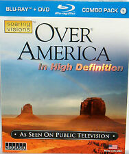 Over America Blu-ray/DVD 2-Disc Set AS SEEN ON TV HIGH DEF DC LA IL HI FREE SHIP