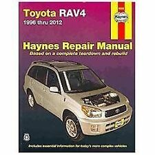 1996-2012 Toyota RAV4 Repair Manual 2004 2005 2006 2007 2008 2009 2010 2011 0743