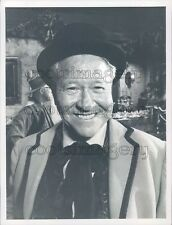 Actor Jack Oakie in A Christmas Story TV Episode of Bonanza Press Photo