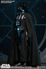 Sideshow DARTH VADER EXCLUSIVE 1:6 Scale STAR WARS Figure & Hand_1000761_NRFB