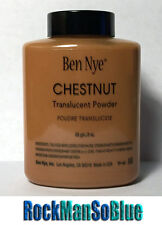 Ben Nye Chestnut Powder 3 oz Bottle Authentic Translucent Face Makeup