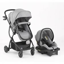 Urbini Omni 3 in 1 Travel System Baby Infant Stroller Car Seat Cup Holder Safety