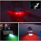 """Red 6 led 1/2"""" NPT Underwater Boat Drain Plug Light with connector for fishing"""