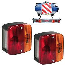2 X 12v 4 función Trasero Universal Luces Traseras Caravan Trailer Freno indicador
