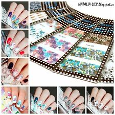 10x Nagel Tattoo Nail Art Sticker Set BORN PRETTY Blumen Muster W11-W20
