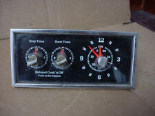 GE Oven Timer Clock Part# 148T125P11