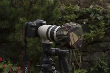 Impermeable Lente final de la PAC se adapta a Canon 100-400 Camo O Negro