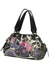 Desigual Authentic Women's Bolso Tokio Carrusel Flores Bag Handbag