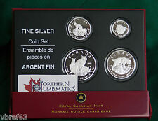 2005 CANADA EMPTY CASE + COA (no coins) for 4 coin Lynx set (99.99% silver)