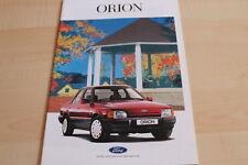 142258) Ford Orion Prospekt 08/1989