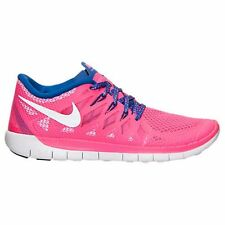 NIB NIKE GIRLS 5Y FREE 5.0 (GS) 644446 601 HYPER PINK RUNNING CASUAL SHOES $85