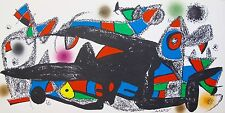 Joan Miro ESCULTOR DENMARK Plate Signed Lithograph MINT!