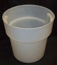 Restaurant Equipment Bar Supplies CARLISLE 18QT ROUND STORAGE CONTAINER WITH LID