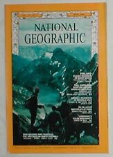 National Geographic.May'68. Finland, Vultures. Gold Mine. Ile de la Cite.Cascade