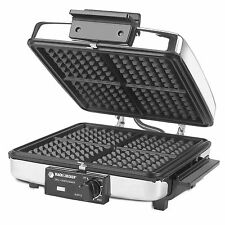 3-In-1 Nonstick Grill Griddle & Waffle Iron Treats Home Chef Kitchen Appliance