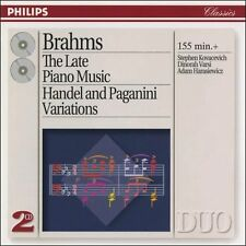 J. Brahms: The Late Piano Music by