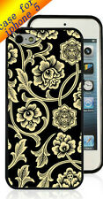 OBEY Flower Vine iPhone 5 5s Printed Case PC & TPU Mixed Materials for iPhone 5s