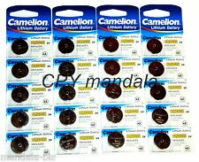 Blister 5 Batterie Pulsante LITIO - CR2032 - 3V - CAMELION