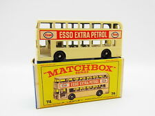 "LOT 33393 | Matchbox 74 B Daimler Bus Doppeldecker Esso neuwertig in ""E""-Box"