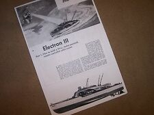 29 inch cabin cruiser model boat  plans