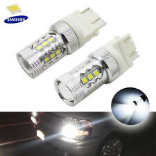 HID White 3535-SMD LED For 2011 & up Jeep Grand Cherokee Daytime Running Lights