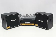 Miniature Guitar Bass Amplifier Marshall JCM 800 Black Amp for Display Only